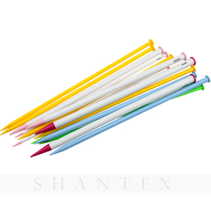 DIY Crochet Hooks Knitting Needles Set Soft Plastic Point Knitting Needle Weave Craft