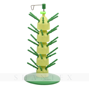 Stack'n Stitch Thread Tower Organice hasta 30 carretes Soporte de carrete de hilo